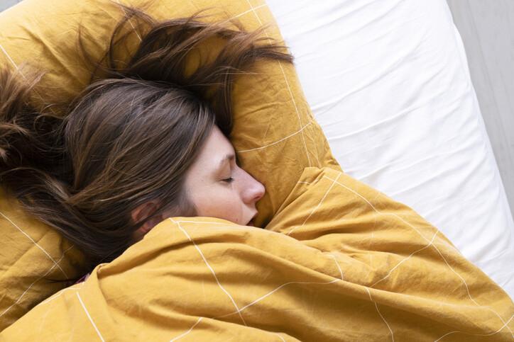 nem tud jól aludni súlycsökkenést)
