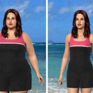 Nézd meg, hogy néznél ki soványabban - modellezd le magad az interneten!