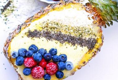 Az ananász az új tányér, és döbbenetesen jól néz ki kajával töltve, NÉZD!