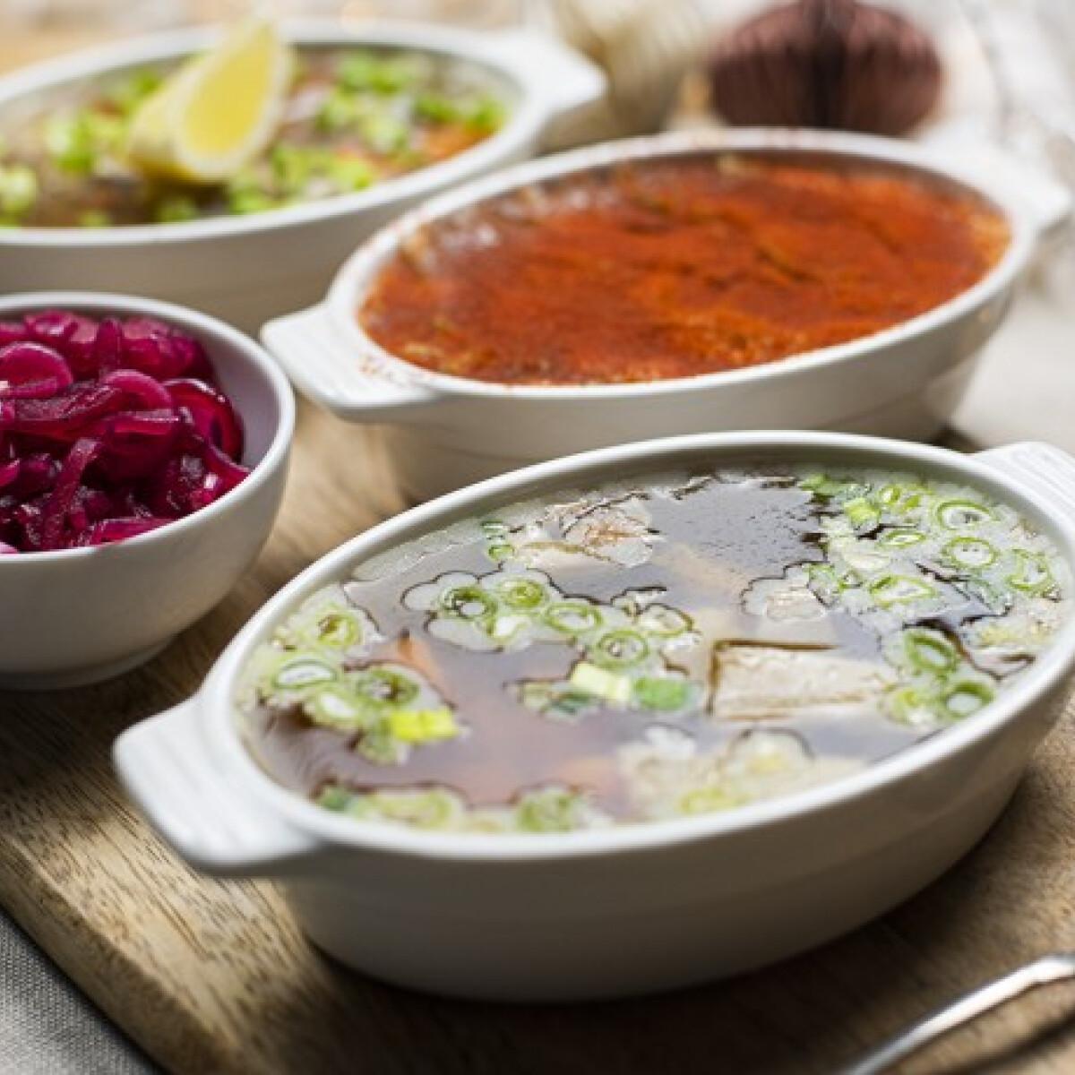 Megosztó téli étel: így készül nálunk a KOCSONYA