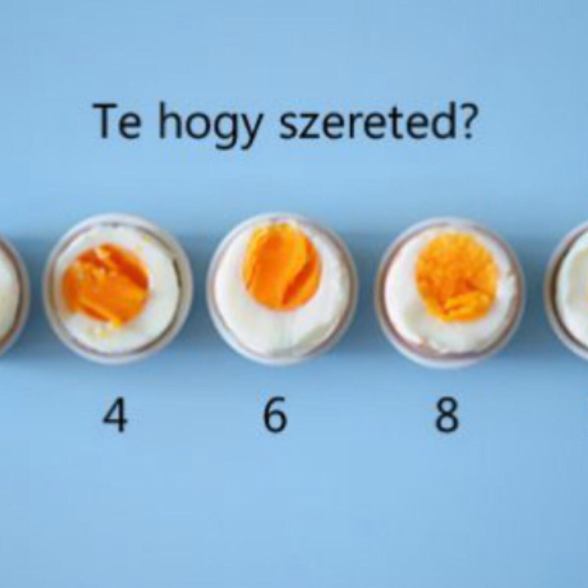 Vajon tudsz tojást főzni?