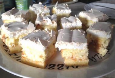 9 nagyon puha, nagyon habos TÚRÓS sütemény