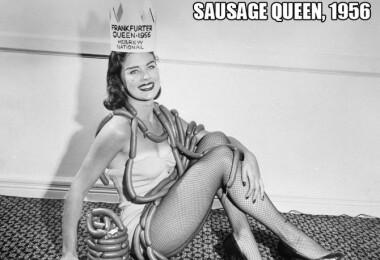 19 nagyon bizarr szépségversenygyőztes hölgy Amerikából - ismerd meg Miss Frankfurti Virslit!