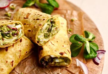 11 színes, könnyed és finom tortilla, burrito és wrap, amit nem szabad kihagyni