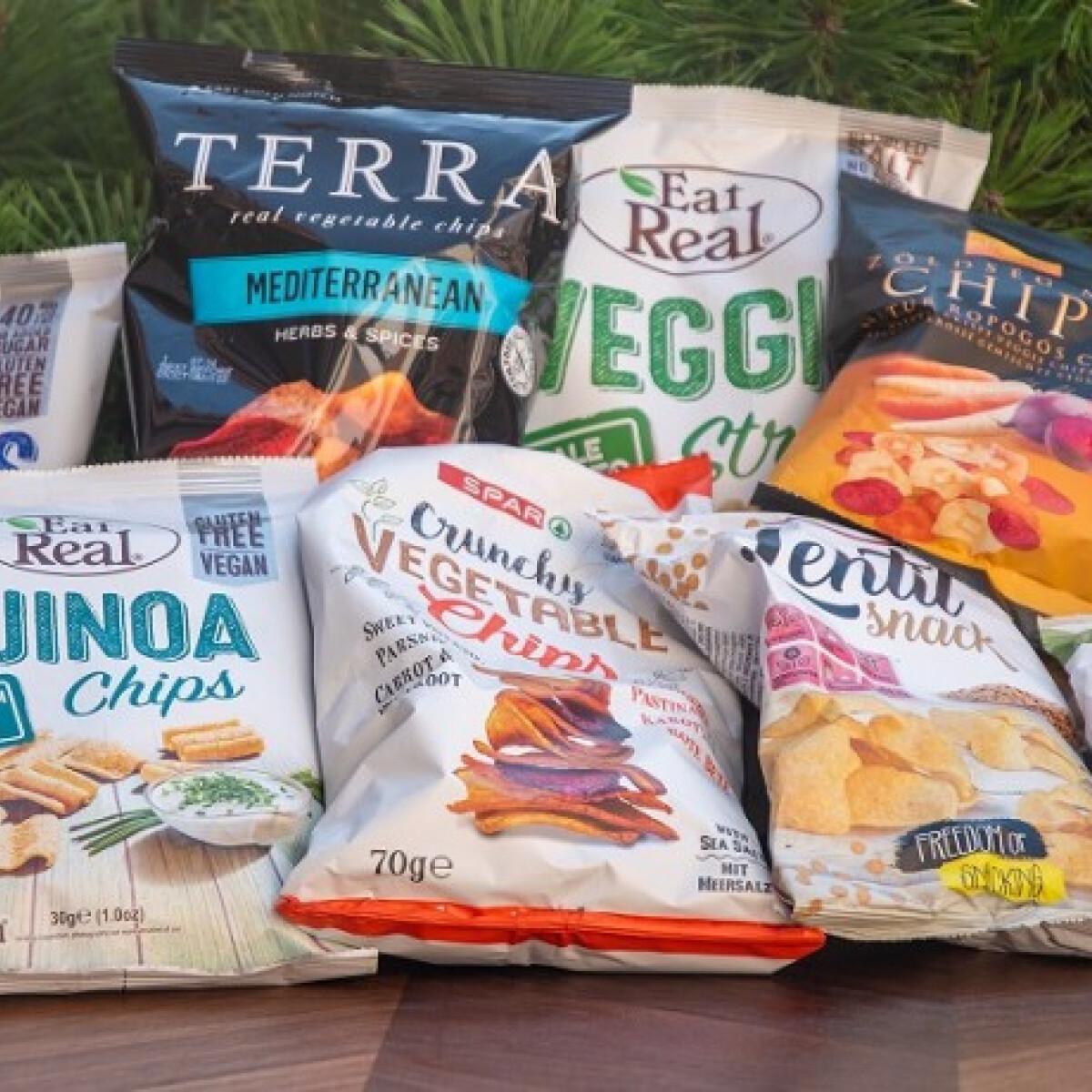 Egészséges chips alternatívák