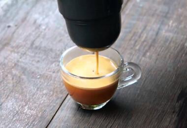 Itt a kávégép, amely elfér a zsebben!