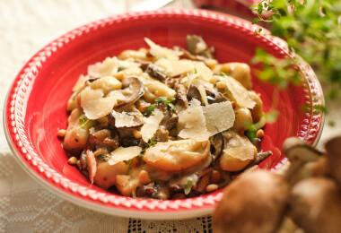 Azta'Pasta – Gnocchi ai funghi, azaz igazi olasz burgonyás gnocchi gombamártással