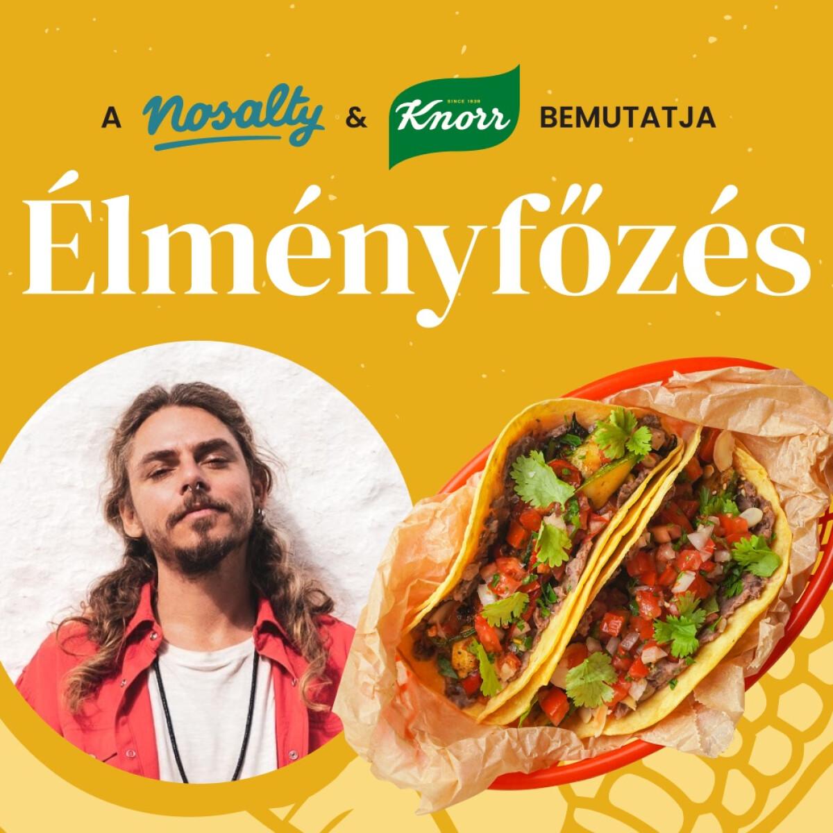 Élményfőzés Steiner Kristóffal – készíts vele tacot feketebabpürével, sült zöldségekkel és salsával, élőben!
