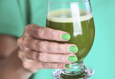 Klorofilles víz: a legújabb őrület, amitől ragyogni fog a bőröd