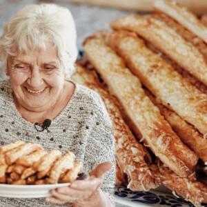 Nagyiprojekt: Klasszikus nagyiféle sajtos rudacskát készítettünk Évi nénivel – Itt az új epizód!