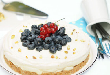 Villantós desszert: expressz sajttorta