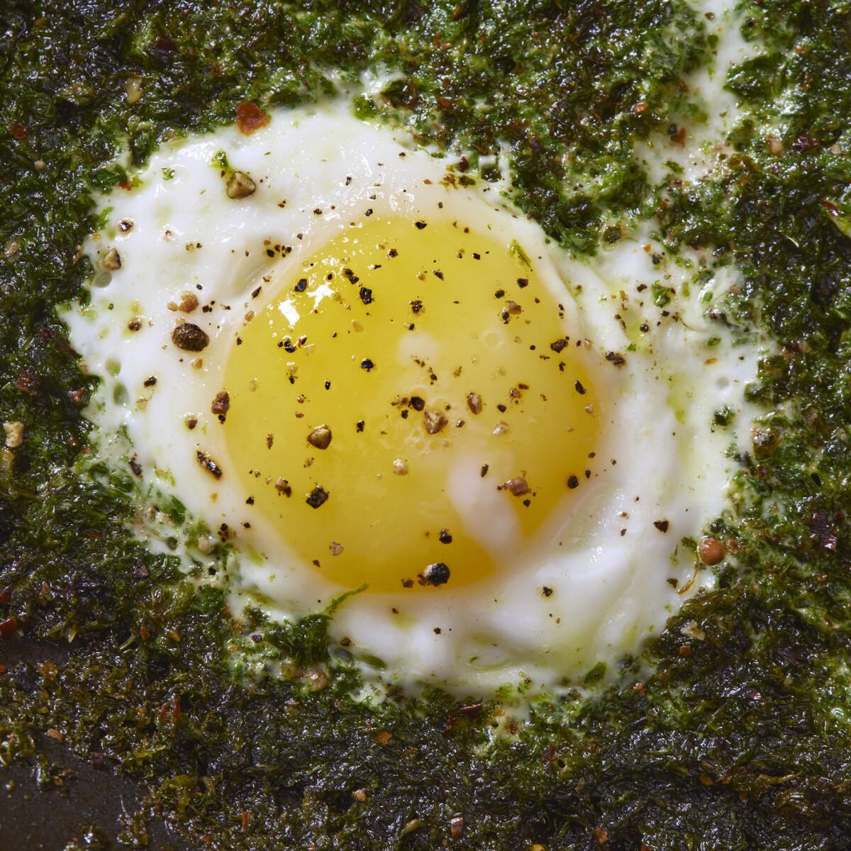 A pestós tojás a legújabb reggeliőrület