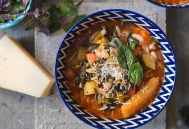 9 nagyon zöldséges, laktató leves hús nélkül