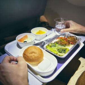 Ilyen borzalmas ételt kapott egy vega utas a repülőn