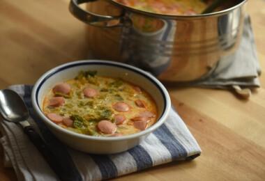 Így készül szerintünk a legfinomabb frankfurti leves