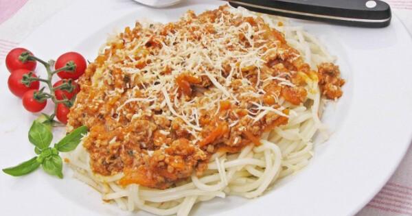 spagetti tészta fogyás