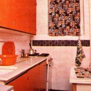 Így nézett ki a konyhánk a '80-as években