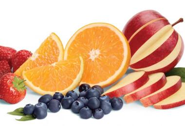 Minél több gyümölcs, annál több odafigyelés a fogakra!