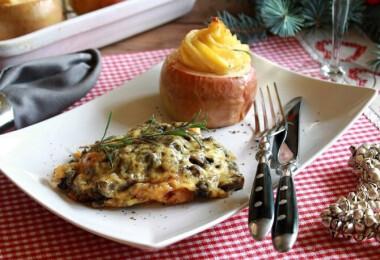 7 omlós, SAJTOS húsétel ebédre, vacsorára vagy karácsonyra