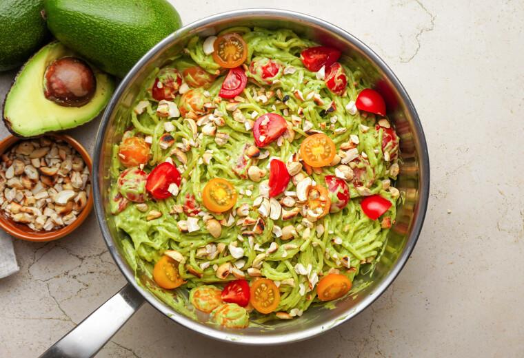 avokado-kremes-spagetti-gyors-ebed-recept