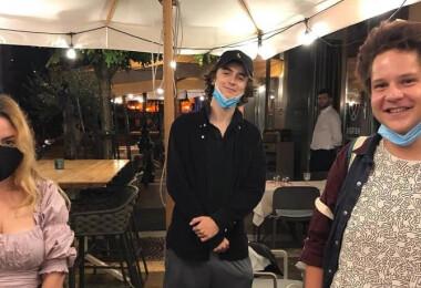 Hollywoodi sztárt kaptak lencsevégre egy budapesti étteremben