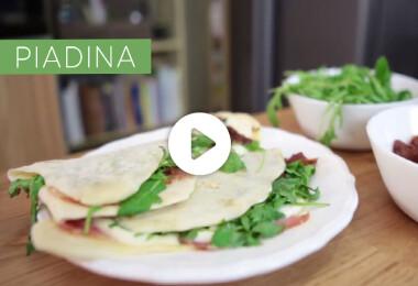 Piadina, a villámgyors olasz lepény