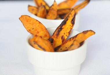 Egészséges sült krumplik