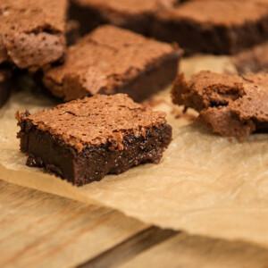 Brownie csupán két hozzávalóból