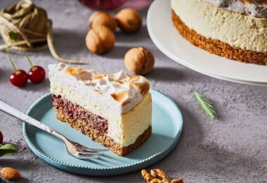 Mesebeli nevet kapott 2018 cukormentes tortája