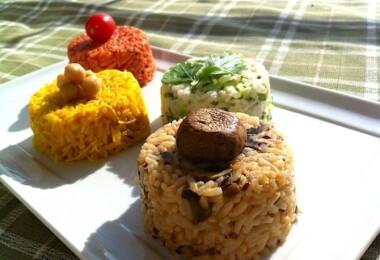 Színpompás rizskavalkád