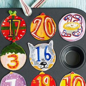 10 ötletes, mutatós és egyszerű adventi naptár, amit te is elkészíthetsz
