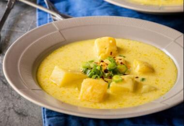Mit főzzek ma? Hétfőn currys krumplileves, shakshuka és banánmuffin vár