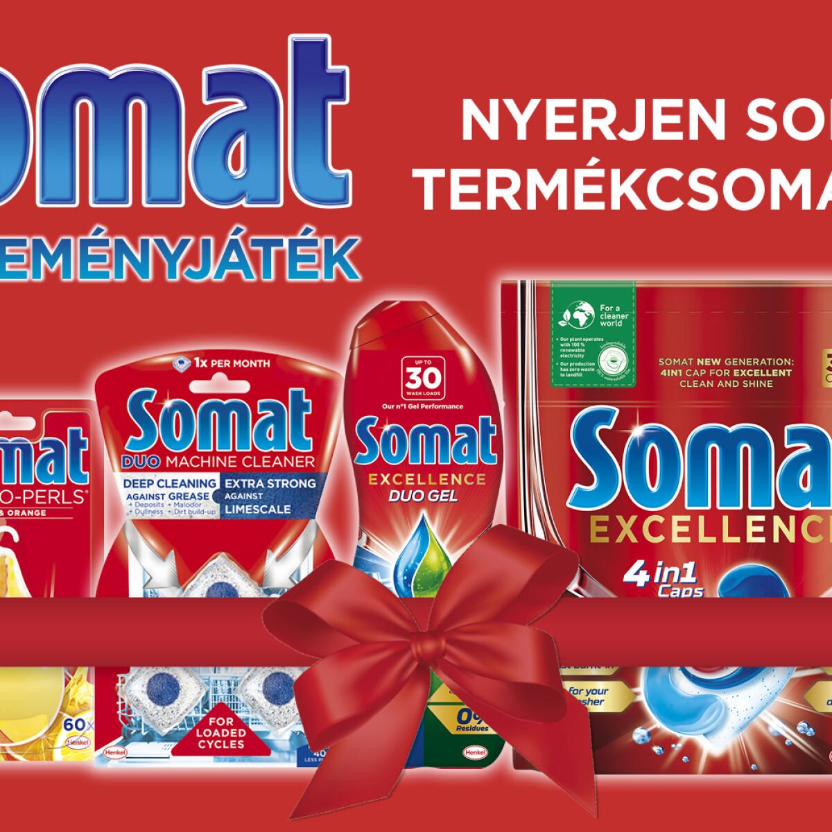 Nyerj velünk Somat ajándékcsomagot a Nosaltyn!