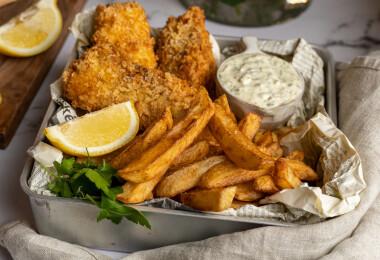 Így lesz extrán ropogós az egyik kedvenc gyorskajánk: a fish and chips
