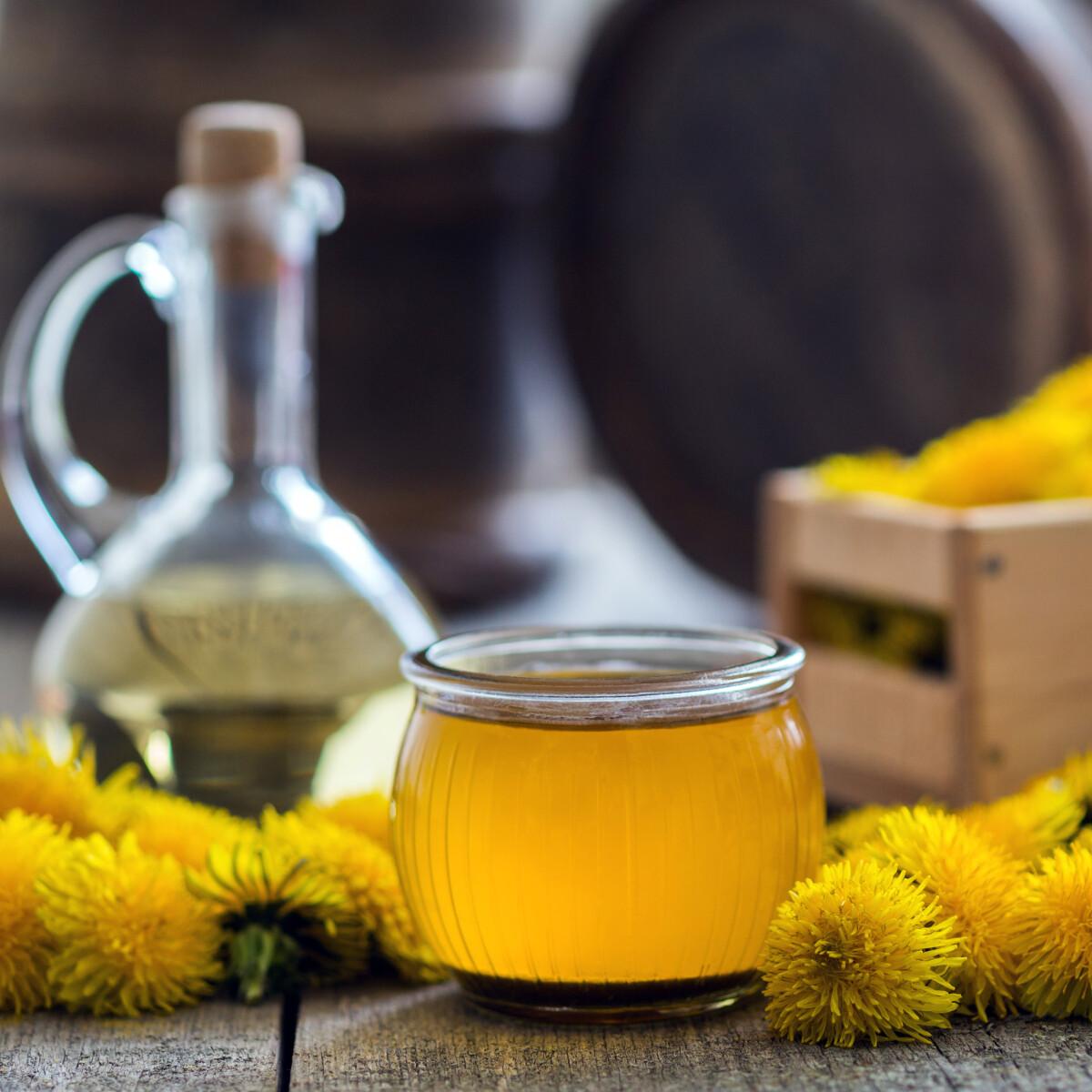 """Így készíts """"hamis"""" mézet vagy limonádét PITYPANGBÓL"""