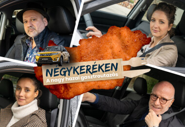 Négykeréken négy hírességgel – Újraindul a Nosalty és a Suzuki közös gasztroutazása!