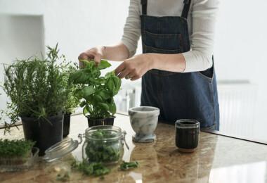 Vágd fel villámgyorsan a fűszernövényeket ezzel az egyszerű trükkel!