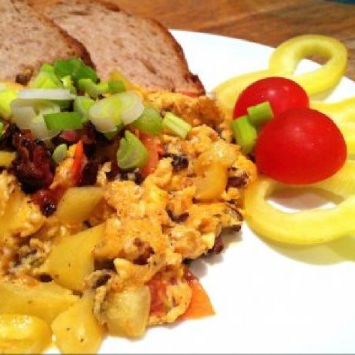 Gréti: szüneti tojásos reggelik