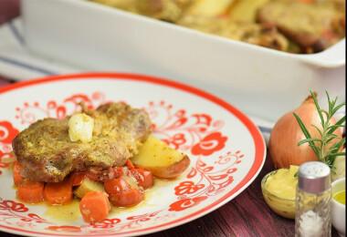 Mit főzzek ma? Gombaleves, tepsis tarja és citromos-mákos süti a menü