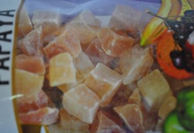 Kandírozott papaja