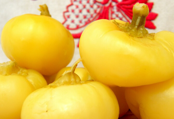 Ezen a képen: Ecetes almapaprika