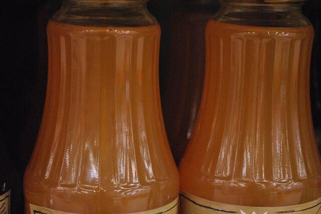 Ezen a képen: Rostos almalé