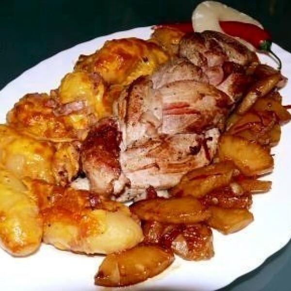 ananászos hús