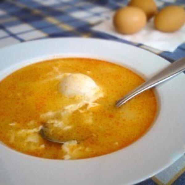 tojásleves