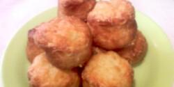 Juhtúrós pogácsa sütőporral