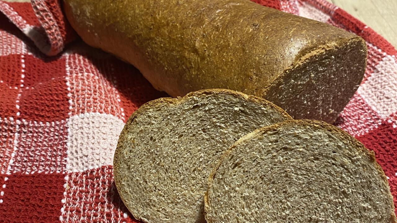 Tökéletes teljes kiőrlésű kenyér