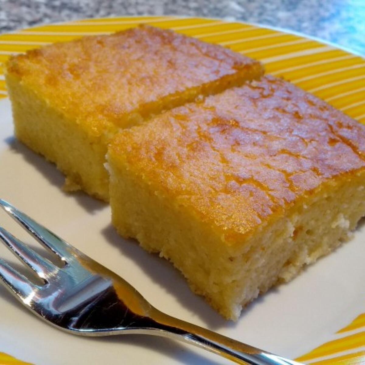Ezen a képen: Gluténmentes hamis tejes pite