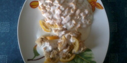 Citromos-joghurtos csirkemell