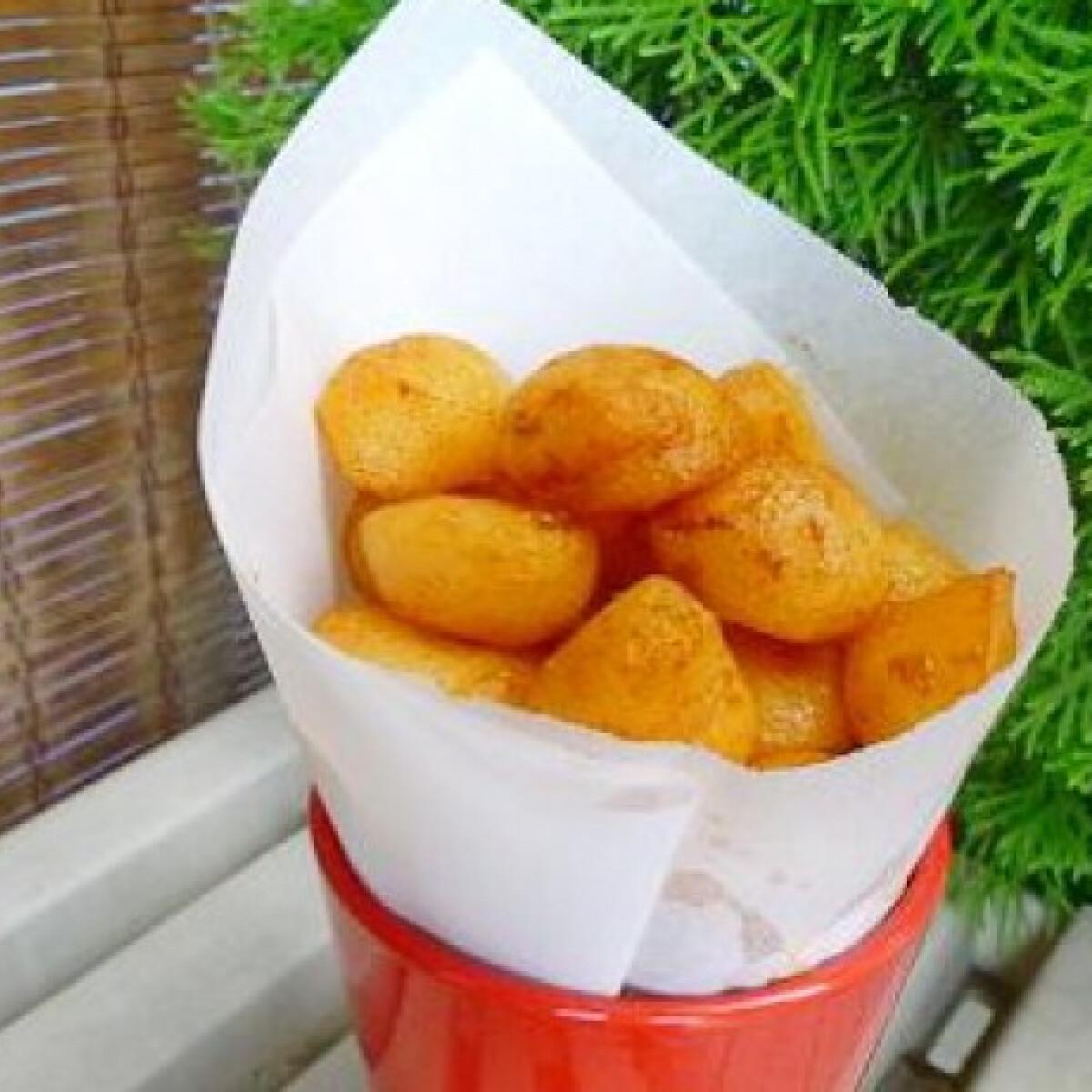 Vajban sült krumpligolyók