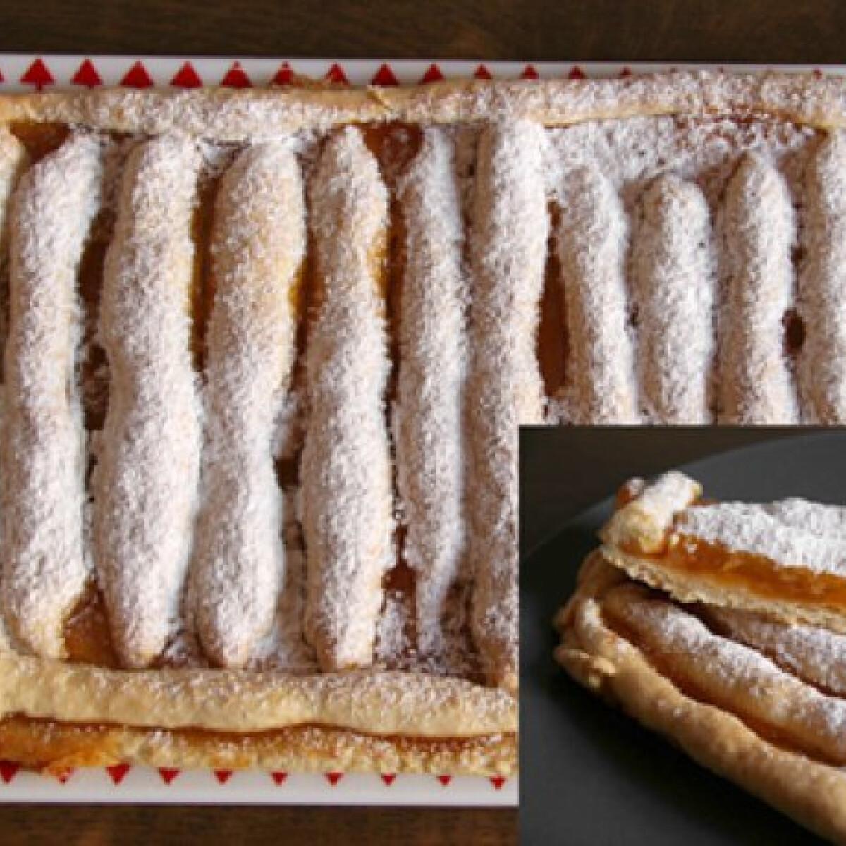 Ezen a képen: Omlós lekváros süti